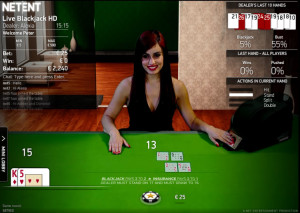 Net Entertainment Live Casino Blackjack