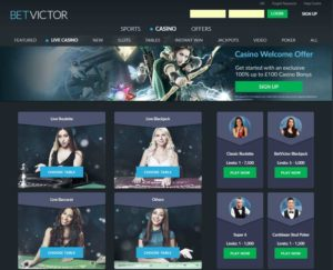 betvictor live casino review