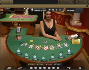 Victors Live Casino Blackjack
