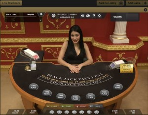 Victors Live Casino Blackjack VIP