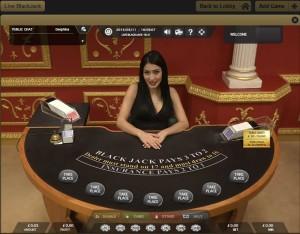 Victors Live Casino Blackjack VIP