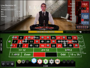 BetVictor live casino Net Entertainment Live Roulette