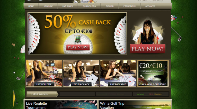 Fairway Live casino