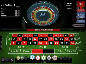Net Entertainment Live Automatic Roulette