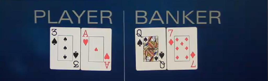 2 card baccarat
