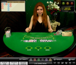 Live Casino Games - Live Baccarat