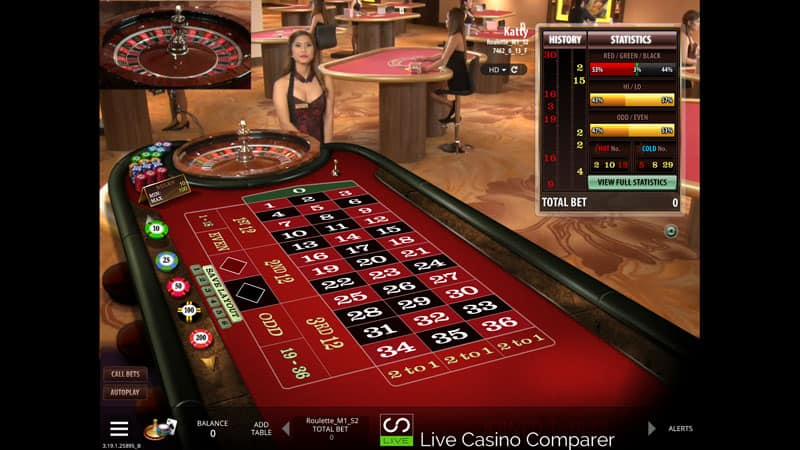 microgaming live casino roulette