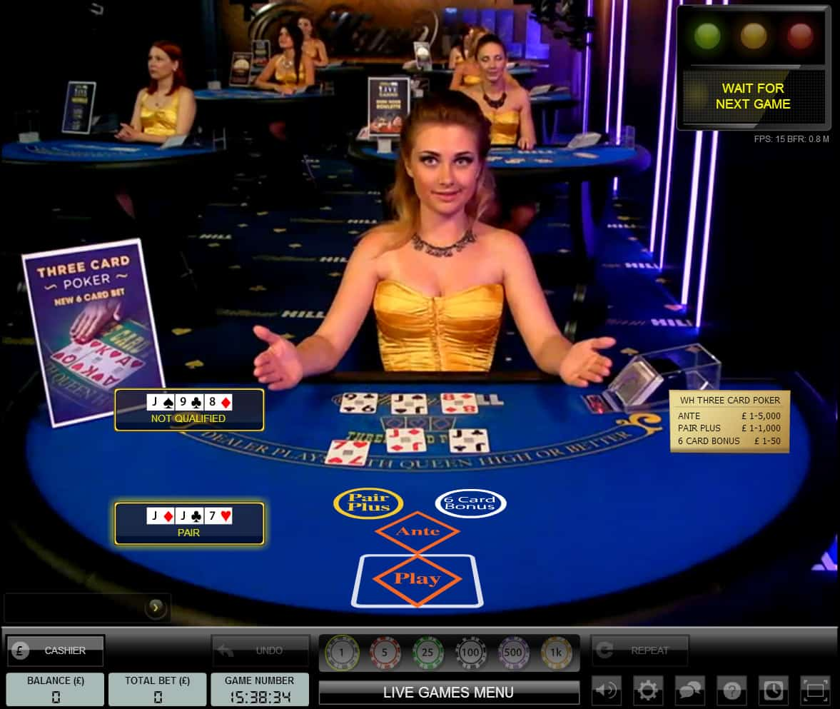 3 card poker simulator
