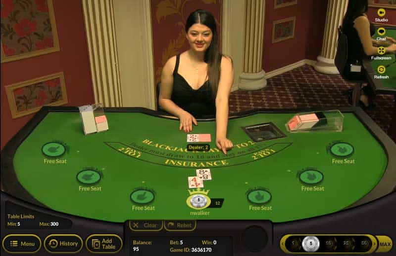 32red casino play slots roulette and blackjack