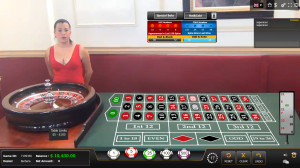 Global Gaming Labs live American Roulette