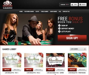 Casino lucky live slot machine software games