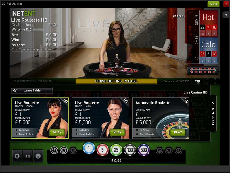 sky roulette smart live casino review