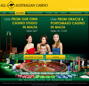 all australian live casino