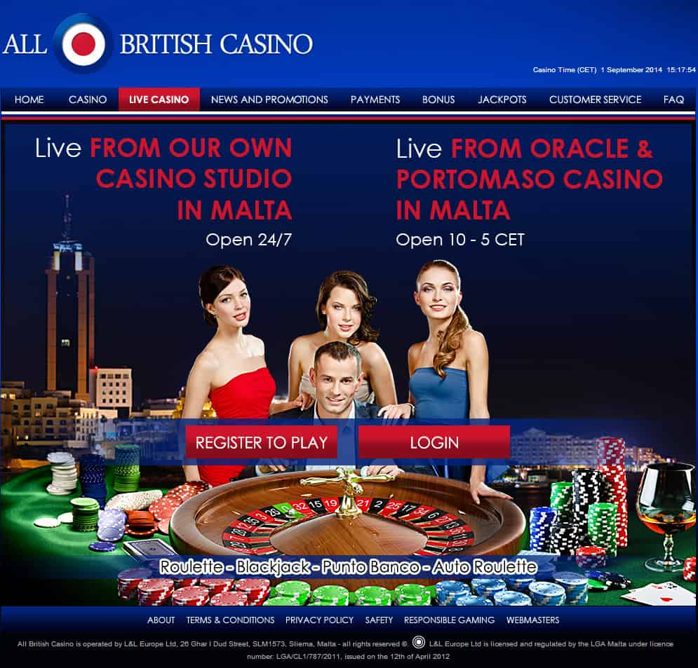 All British Live Casino