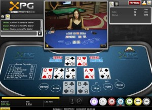 XProgaming Live Casino Texas Holdem