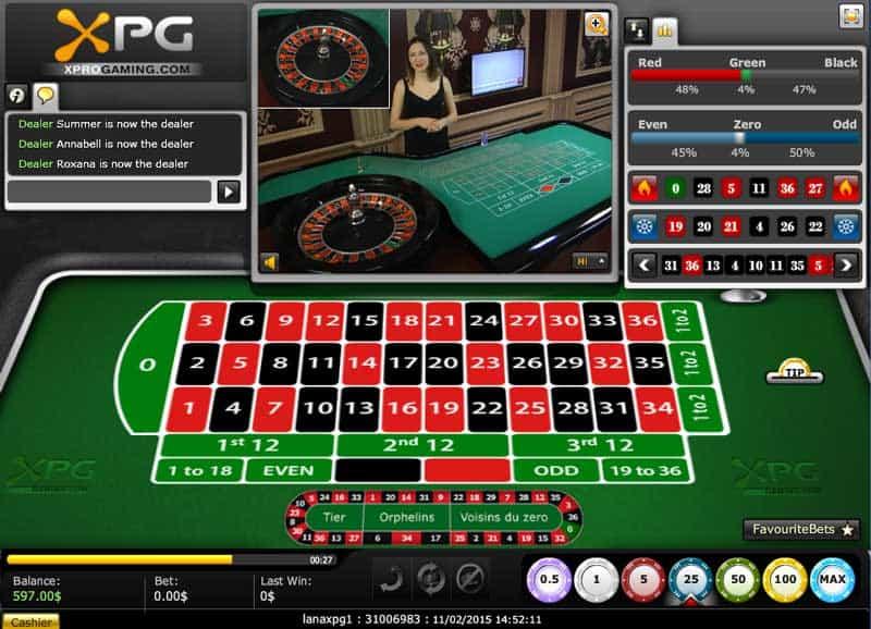 live casinos software