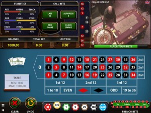 Actual Gaming live casino roulette