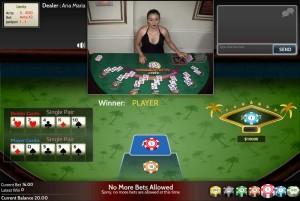 Blackjack multiple hands