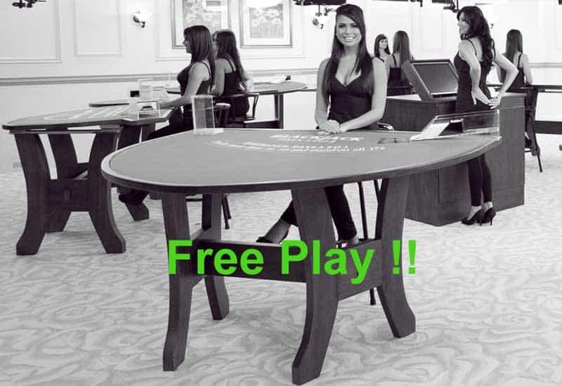 live casino free play