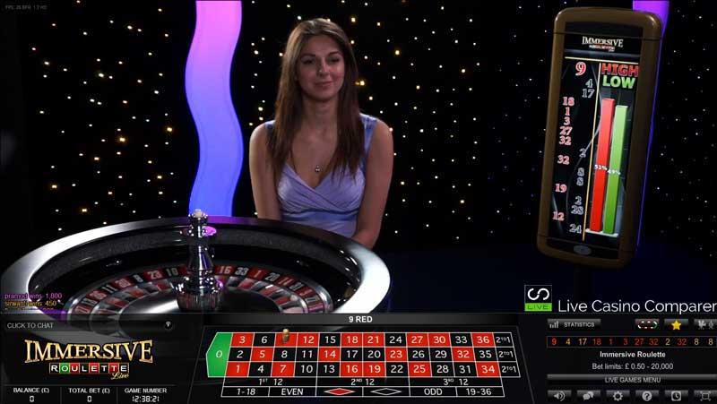 Casino Live Immersive