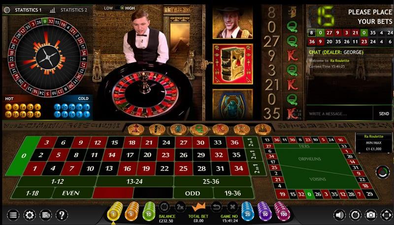 roulettes casino online bokk of ra