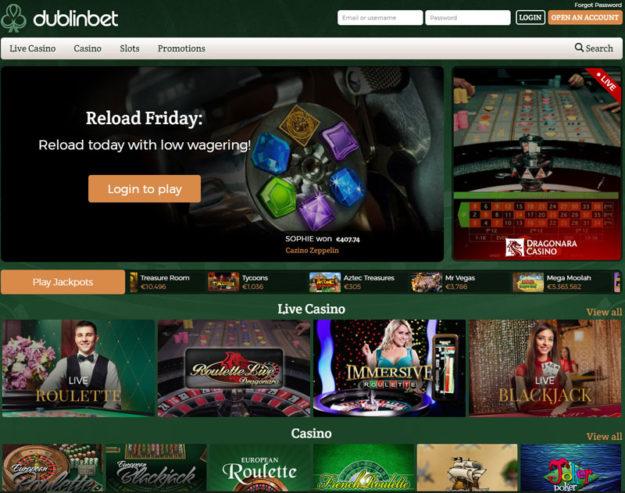 dublinbet live casino