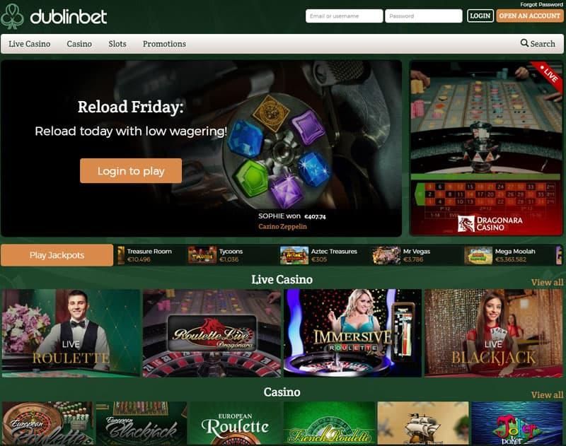 dublin casino live