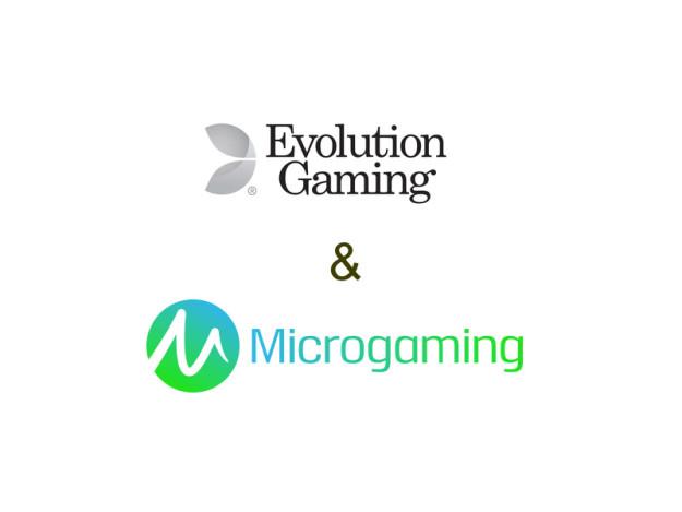 evolution & microgaming live casinos