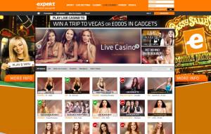 Expekt Live Casino