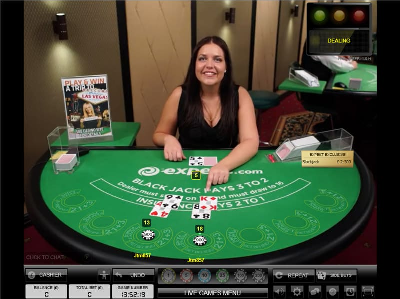 evolution live casino roulette blackjack baccarat poker