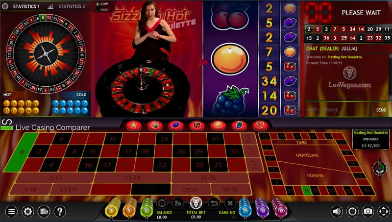 online roulette casino play sizzling hot