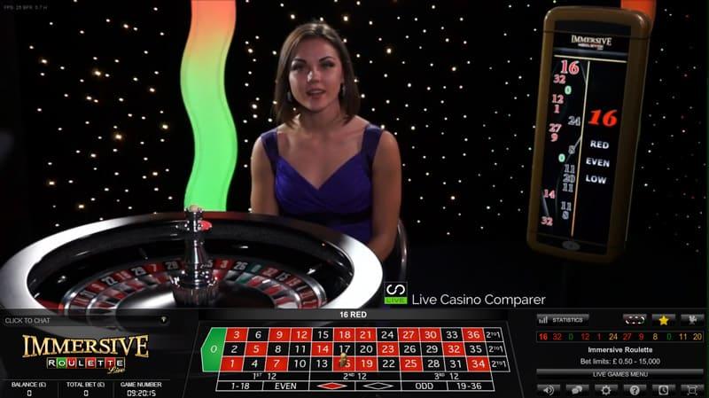 immersive roulette app