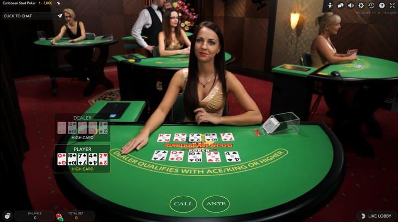 Caribbean Stud Poker (Evolution)