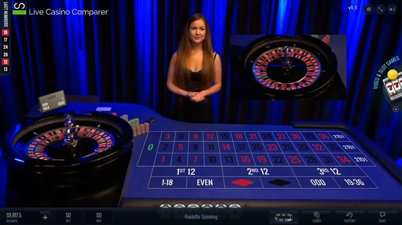 luckystreak live roulette