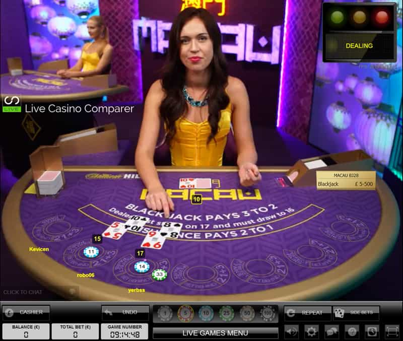 william hill macau casino