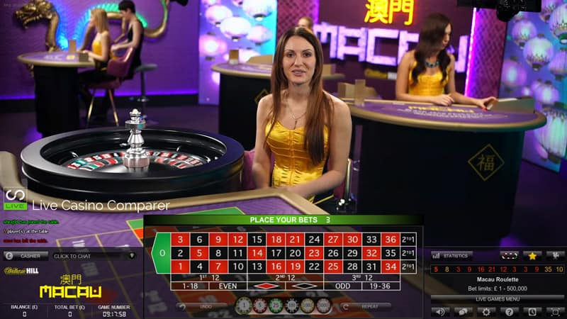 macau casino minimum bet roulette