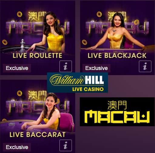 William Hill Macau Live Casino