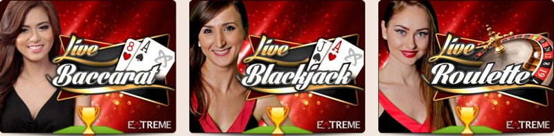 leo vegas Extreme Live Casino
