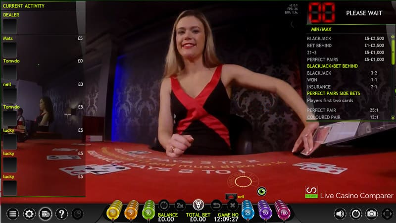 Leo vegas Extreme Live Casino Xmode