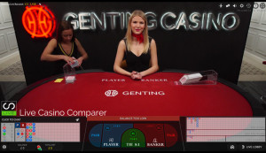Genting Live baccarat