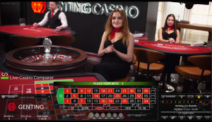 Genting Immersive lite roulette