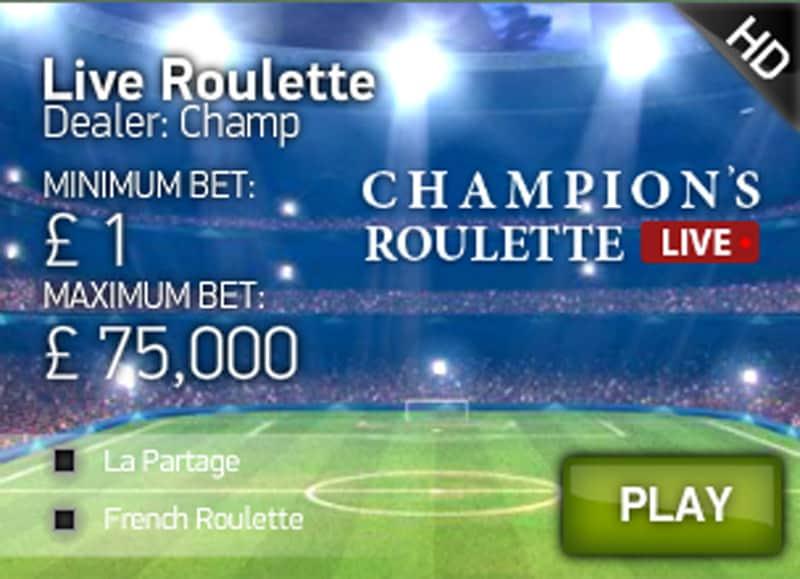 champions league roulette