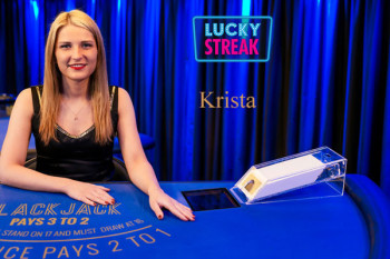 krista Live Dealer at Luckystreak