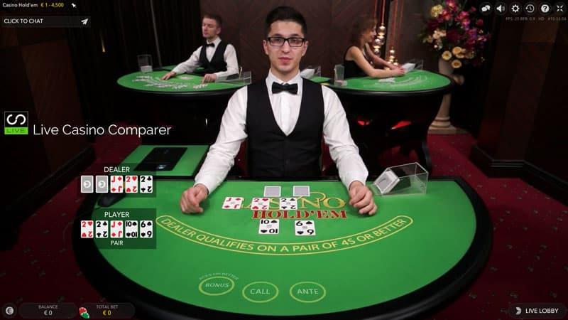Evolution Casino Hold'em