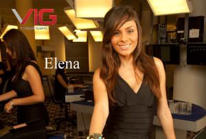 elena live dealer at visionary igaming