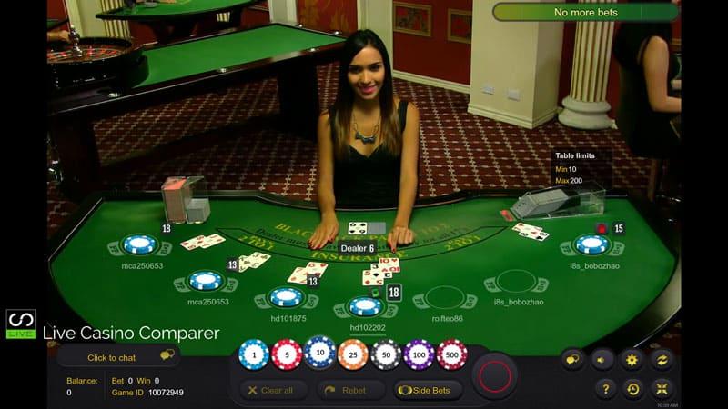 Best Live Dealer Blackjack Casinos
