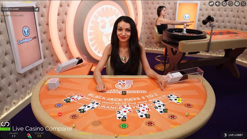 Leo vegas dedicated Blackjack table as leo vegas buys royal panda