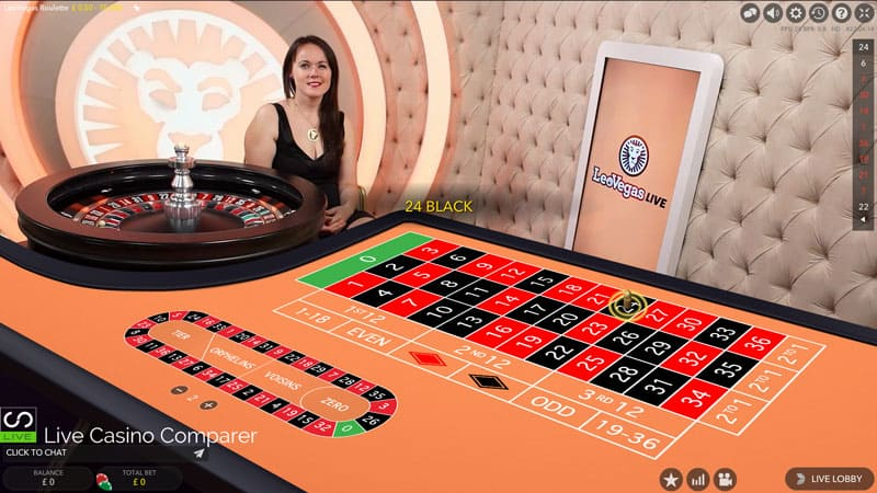 leo vegas dedicated live roulette