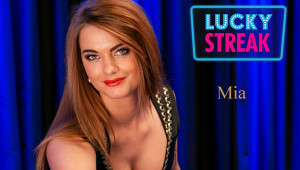 Mia live dealer at luckystreak