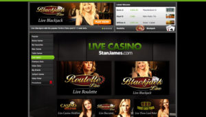 Stan James Live Casino